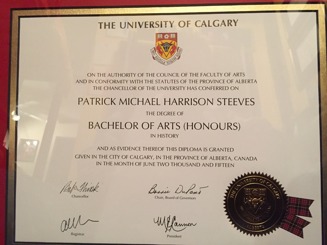 Professional Artifacts Patrick Steeves